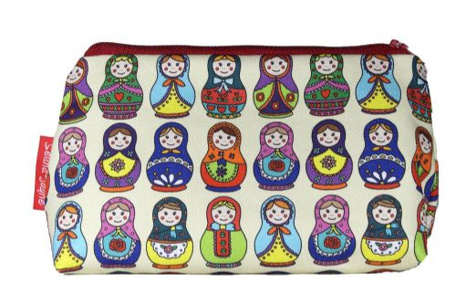 Selina-Jayne Russian Dolls Limited Edition Designer Cosmetic Bag